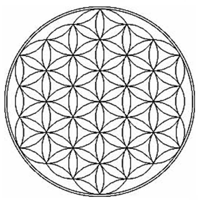 The Flower of Life in Sacred Geometry  Gaia
